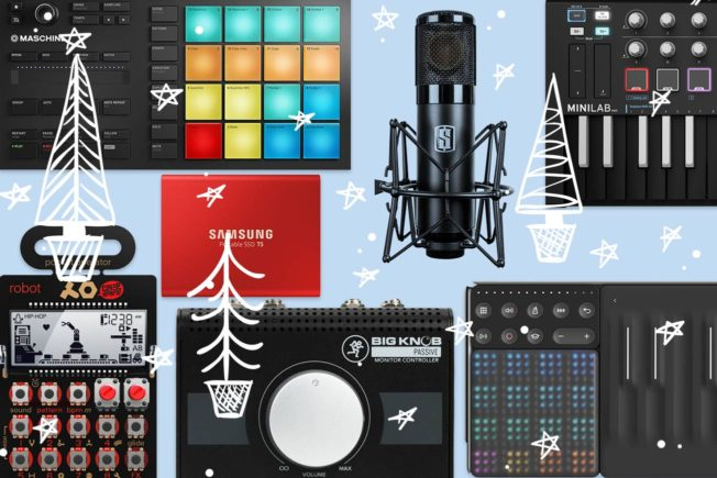 2019 Holiday Gift Guide for Music Producers