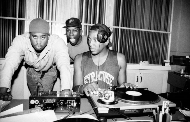 A Tribe Called Quest in a York Studio