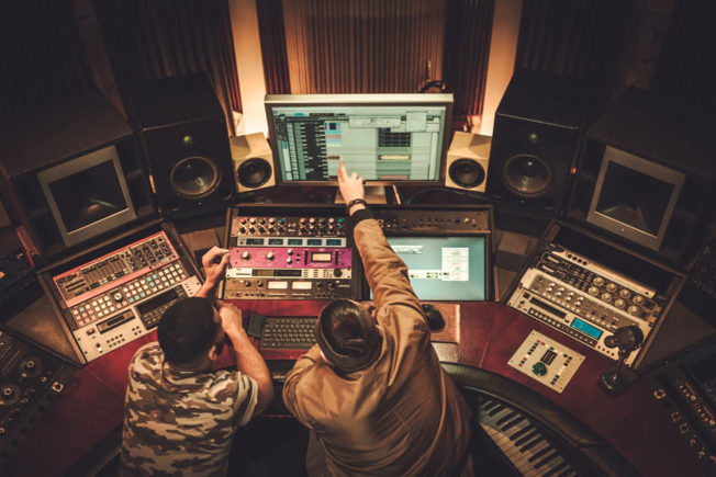 A&R in a Music Production Studio
