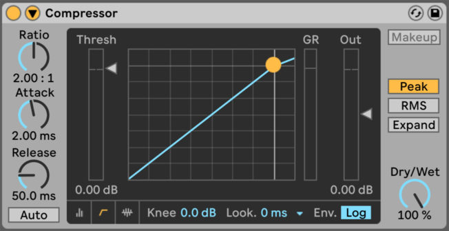 Ableton Live Compressor Plugin