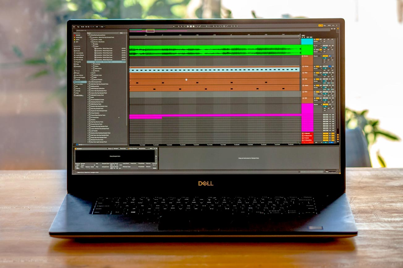 Ableton Live and Dell Laptop