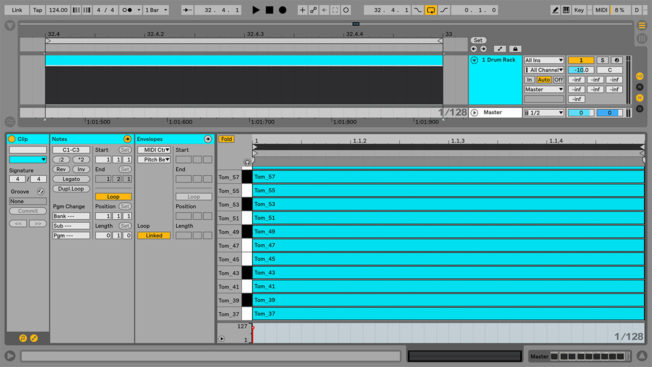 Drum Fills in Ableton Live