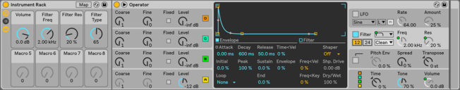 how to make a white noise riser in ableton