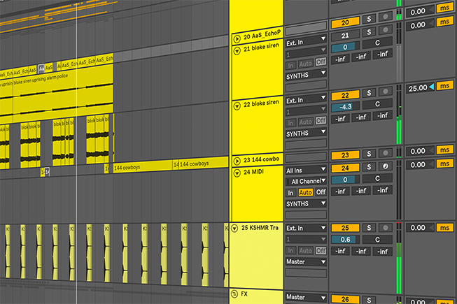 Ableton Live Project Template