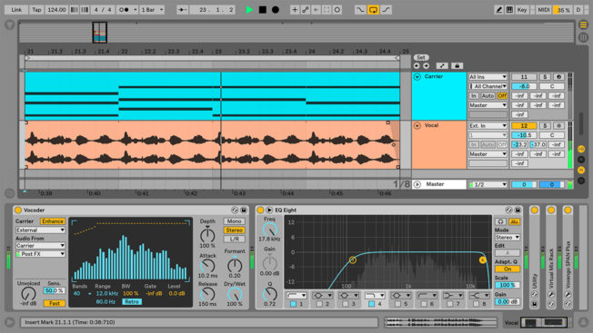 How to Use Ableton Live Vocoder on Vocals and Drums | Icon
