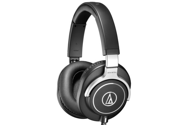 Audio-Technica ATH-M70X Closed-Back Monitor Headphones