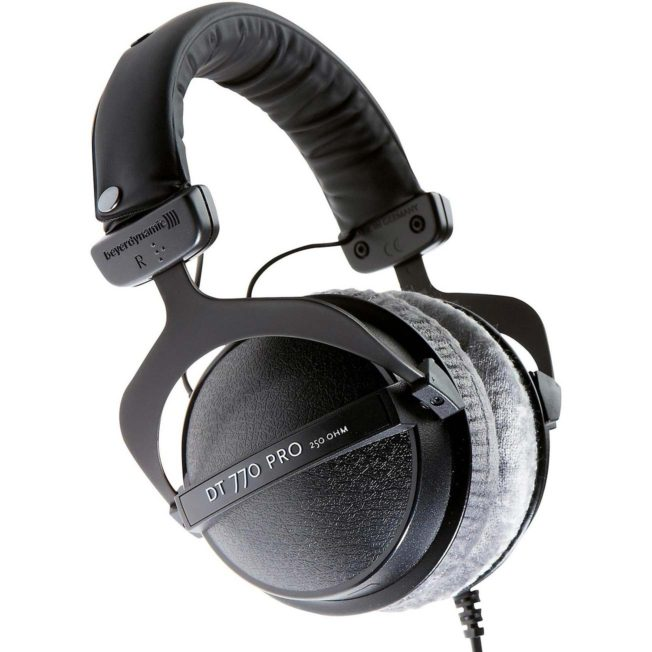Beyerdynamic DT 770 PRO - best headphones for music production