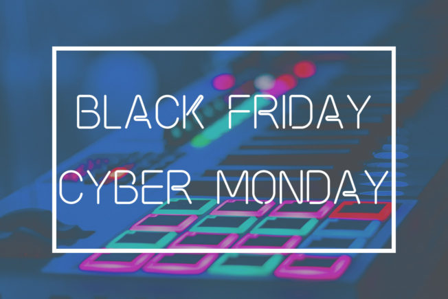 Black Friday and Cyber Monday Deals for Music Producers
