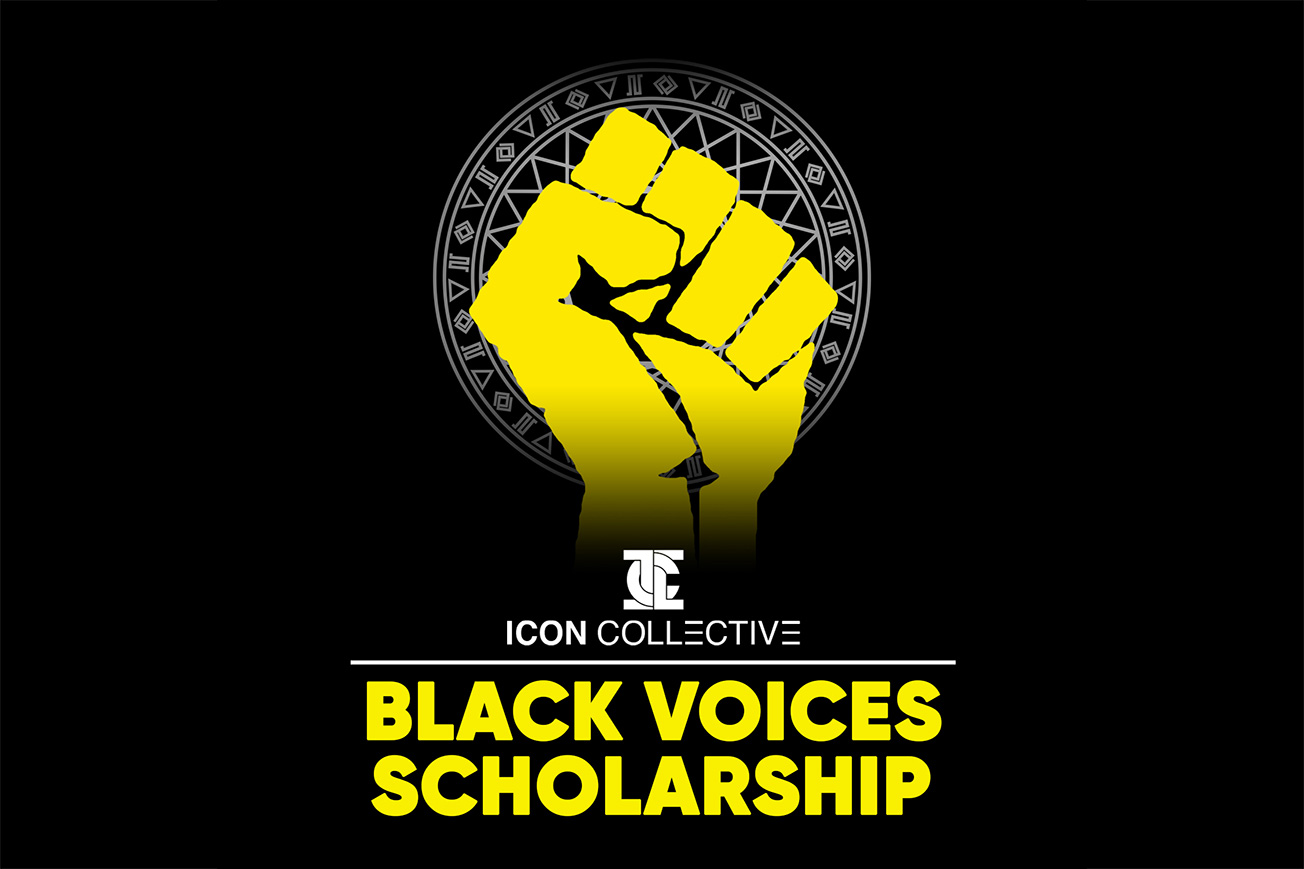 Icon Collective Black Voices Scholarship Fist