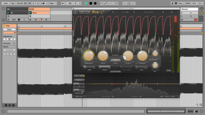 Sidechaining Bass with FabFilter Pro-C and Ableton Live