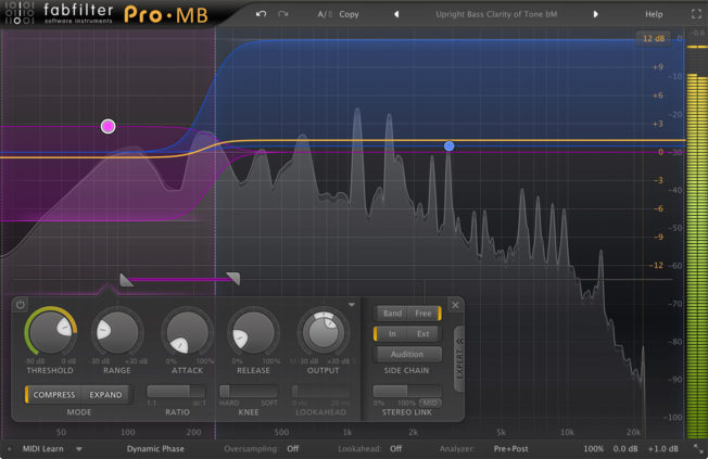 Mixing Bass with FabFilter Pro-MB