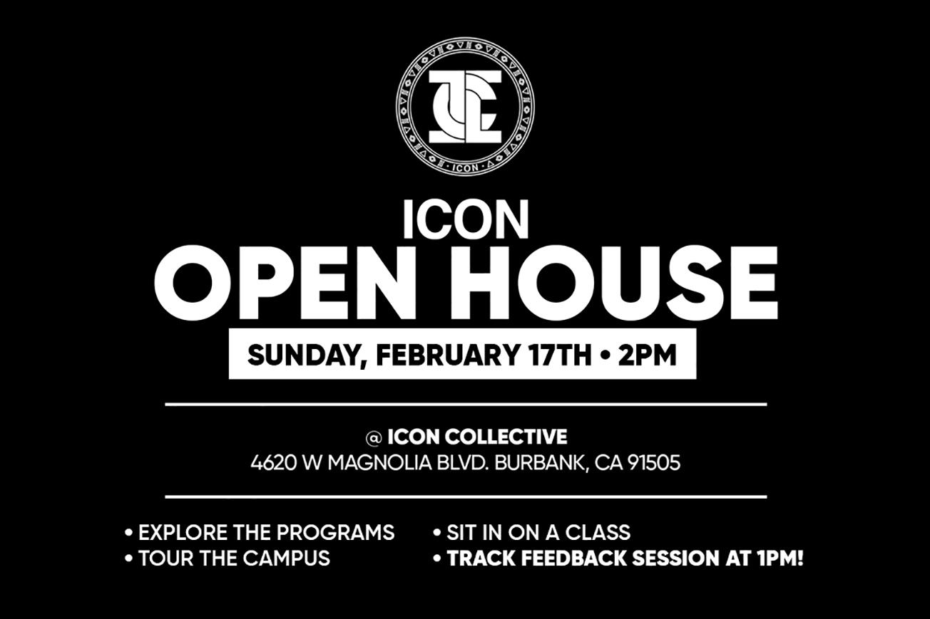Icon Collective Open House Flyer