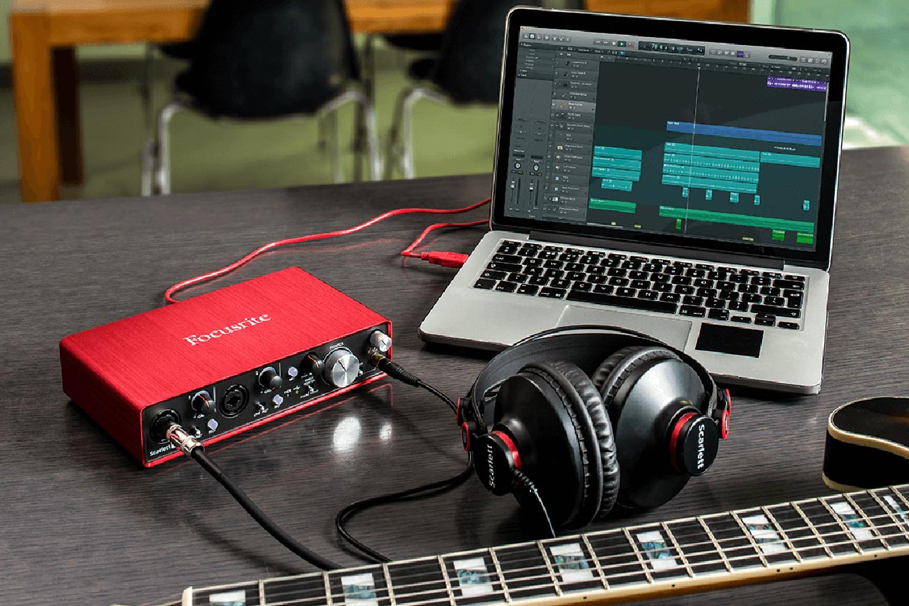 Focusrite Scarlett 2i4 - Best Audio Interfaces
