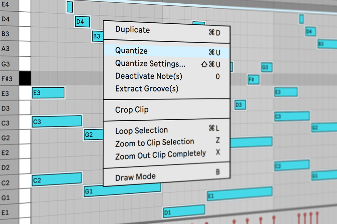 How to Quantize in Ableton Live