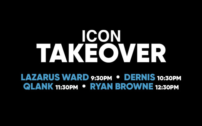 ICON Takeover January 2019