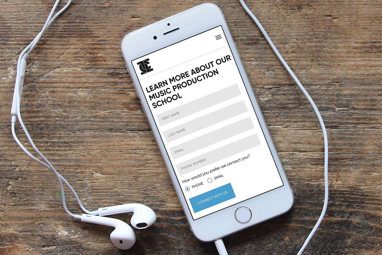 Icon Collective Email Marketing for Musicians Phone