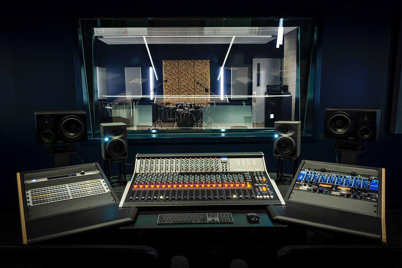 Icon Collective Music Studio and Mixing Board