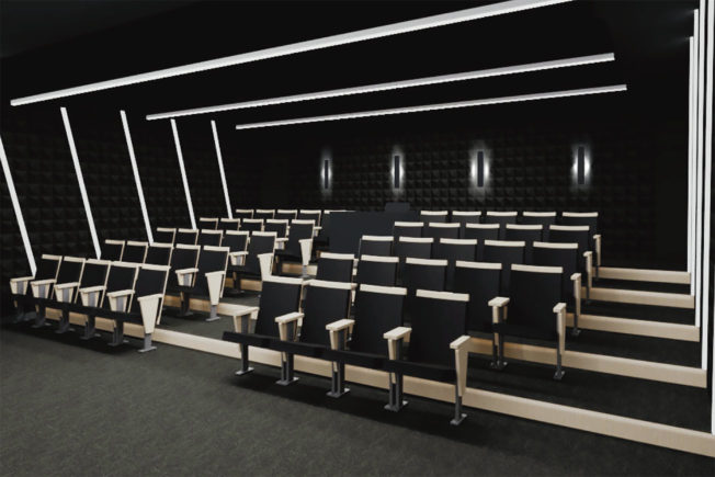 Icon Collective Theater Render