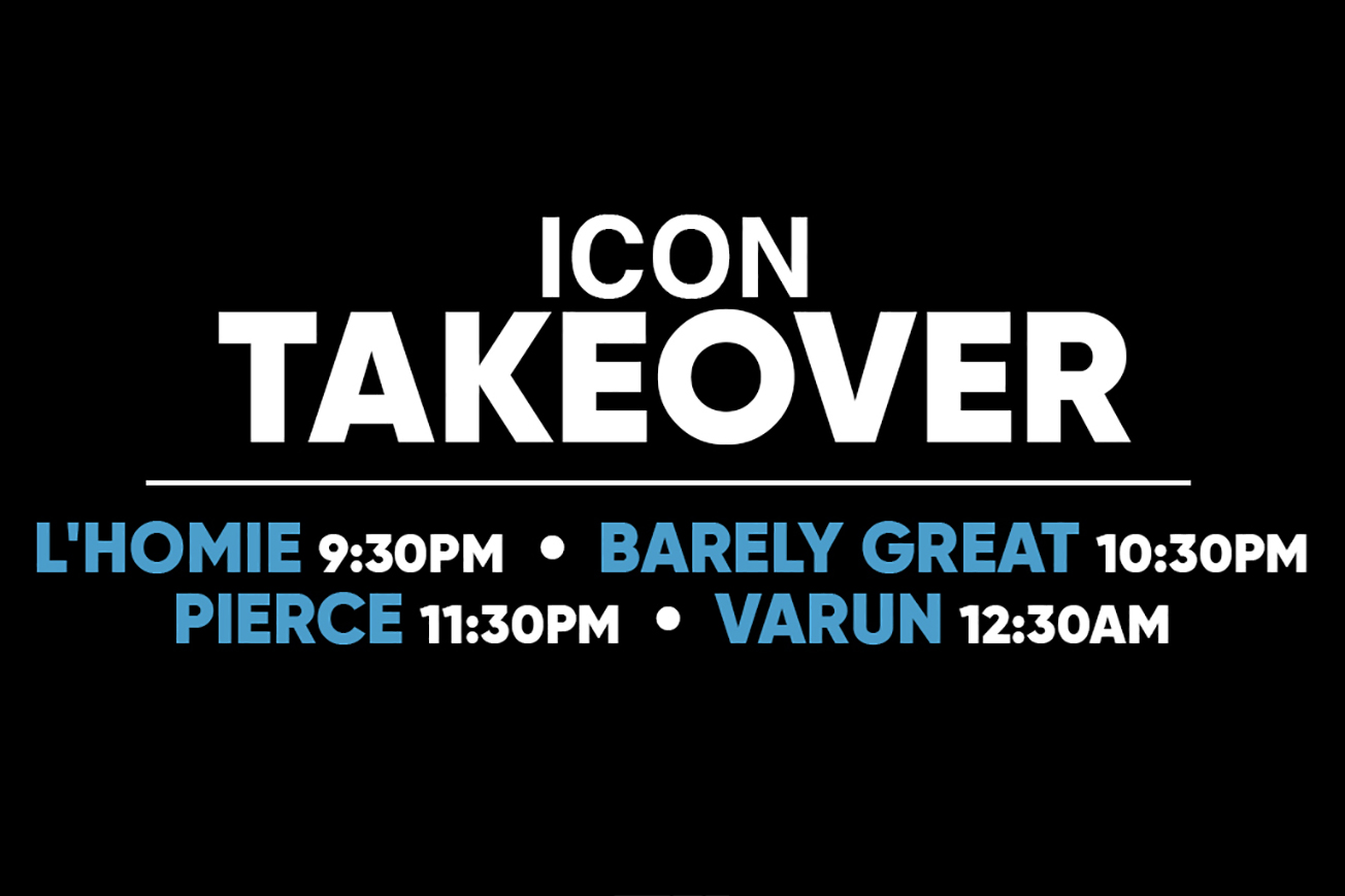 Icon Takeover Party
