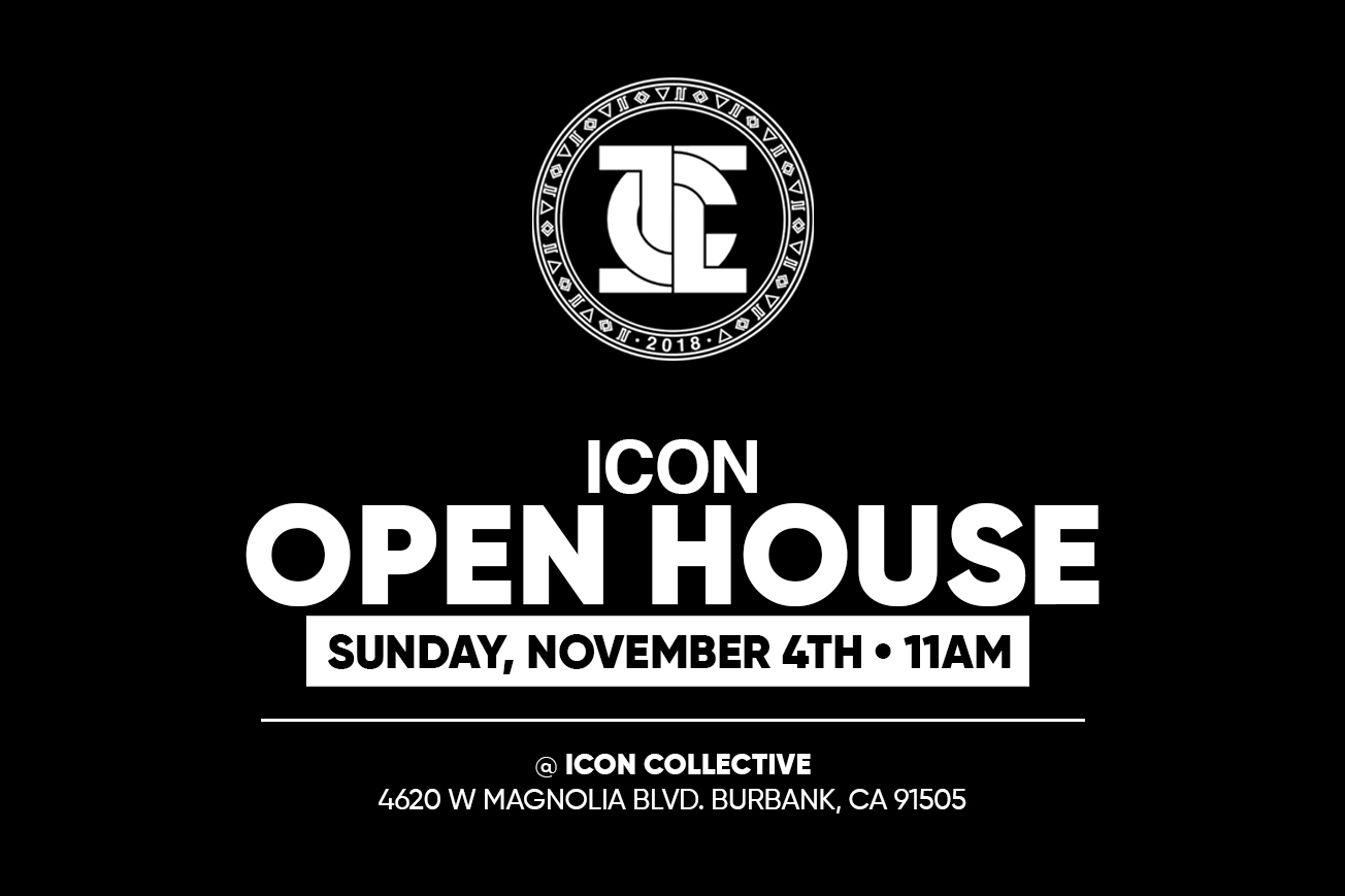 Icon Open House Flyer November 2018