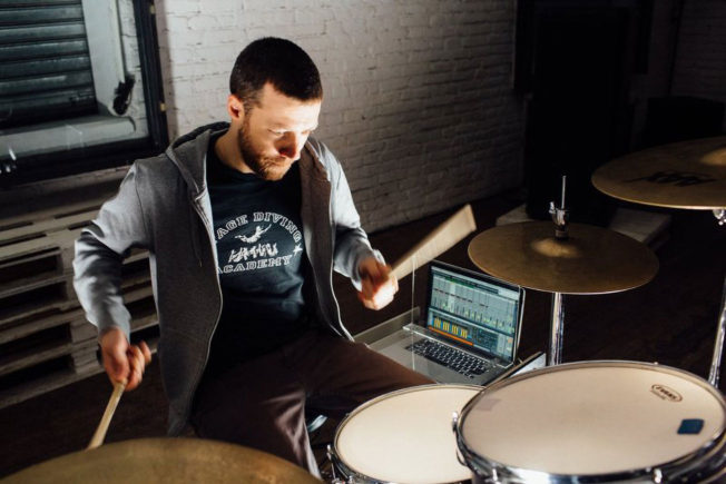 KHOMPA Drumming with Ableton Live