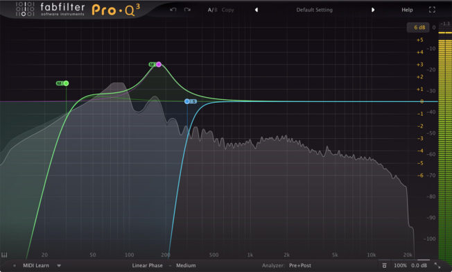 Mixing Bass with FabFilter Pro Q