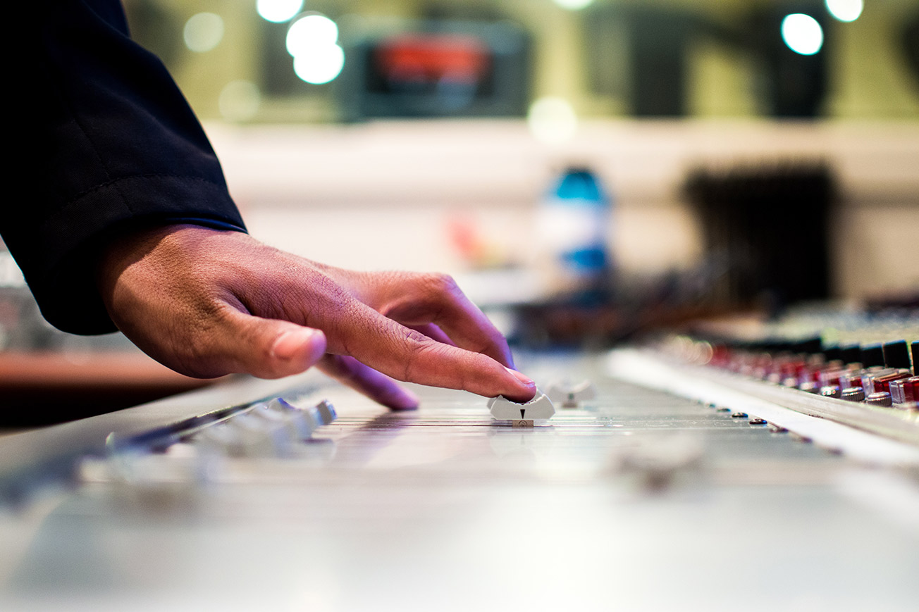 Mixing Console Fader