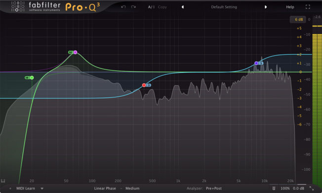 Mixing Drums with FabFilter Pro Q