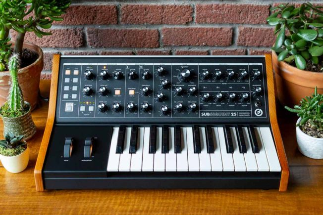 Moog Subsequent 25 Synthesizer
