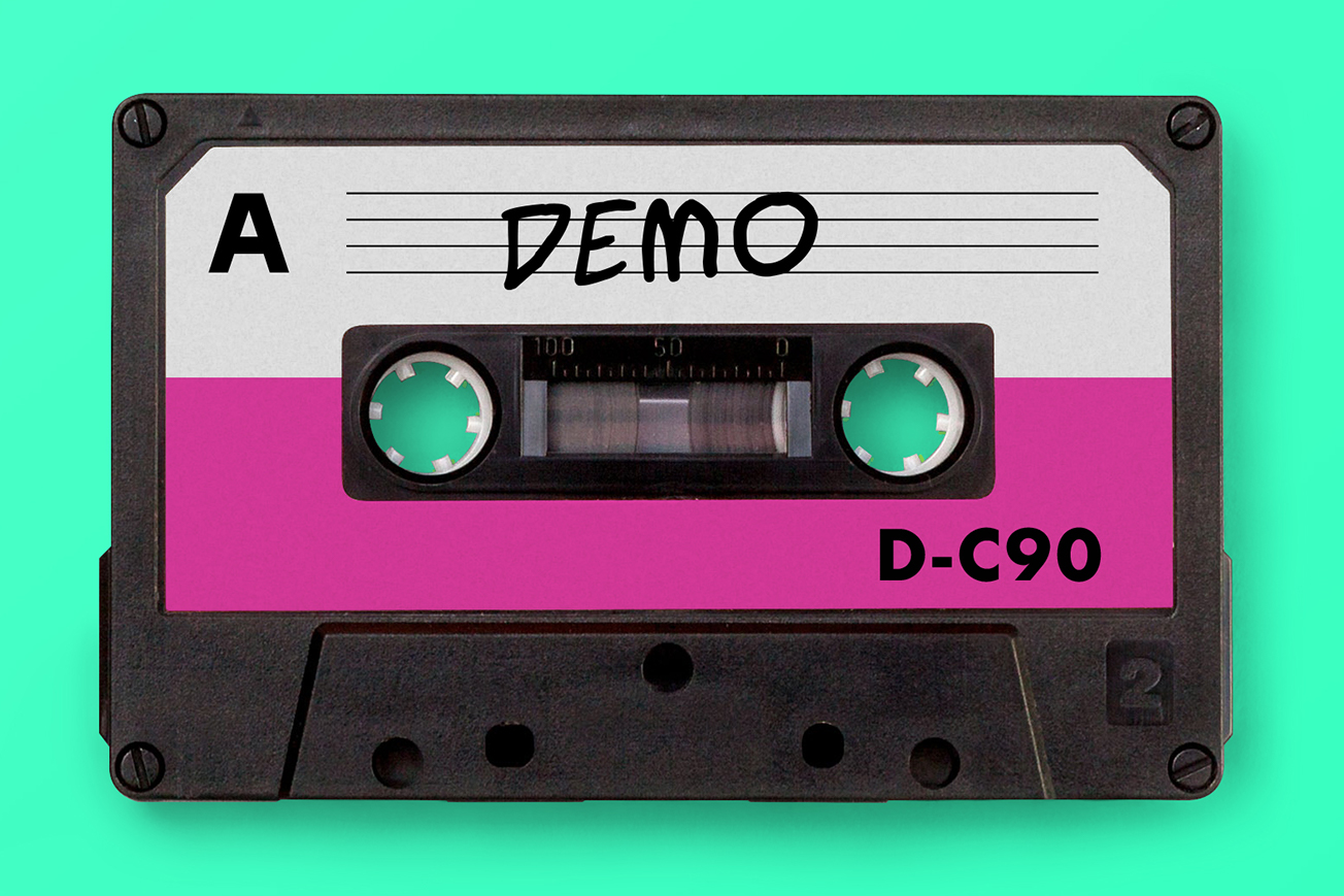 Send a Demo to Record Labels Cassette Tape