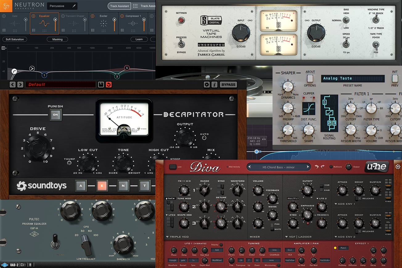 10 Best Music Production Plugin Bundles