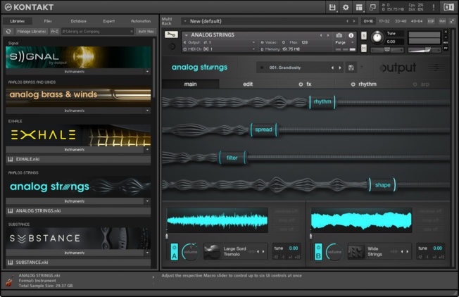Native Instruments Kontakt Sampler Plugin