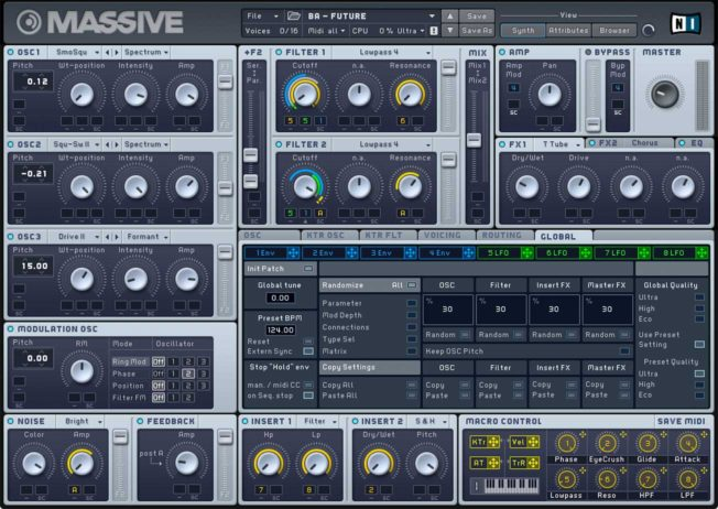Native Instruments Massive Synth Plugin