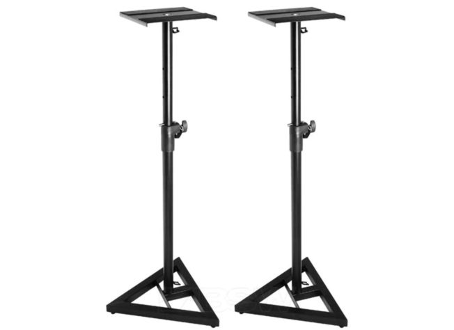 On-Stage Stands SMS6000-P Studio Monitor Stands