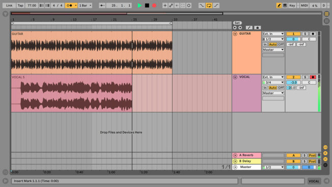 Recording Vocals in Ableton Live