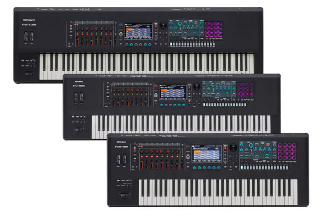 Roland Fantom Synthesizers