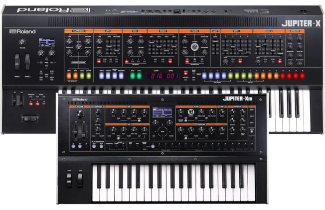 Roland Jupiter-X Synthesizers