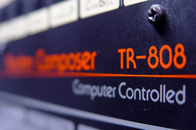 Roland TR-808 Drum Machine Logo