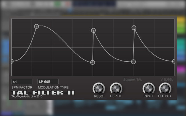 TAL-Filter-2 VST Plugin