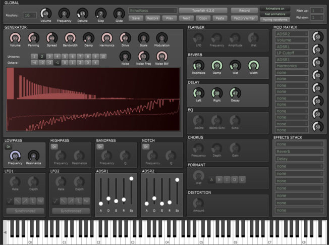 Tunefish v4 Synthesizer VST Plugin