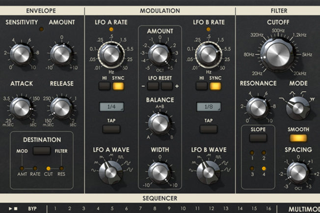 UAD Multimode Filter XL Plugin - Modulation FX