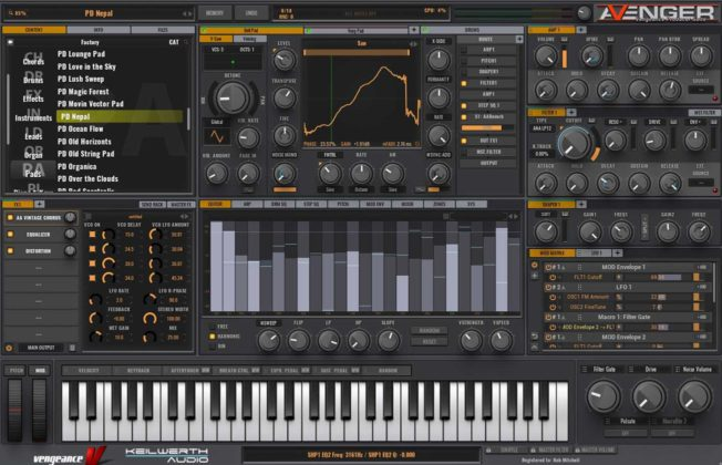 Vengeance VPS Avenger Synth Plugin