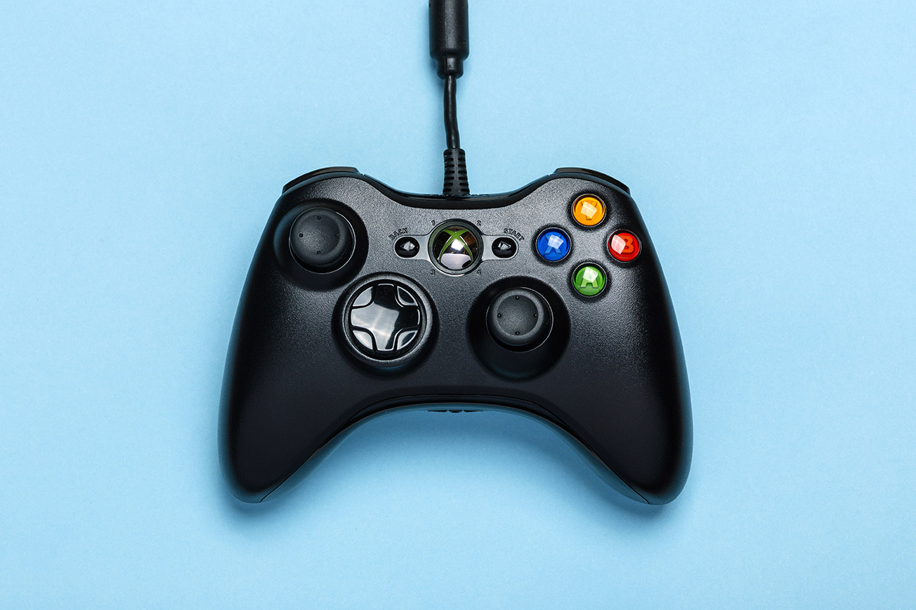 License Music - Video Game Console Controller