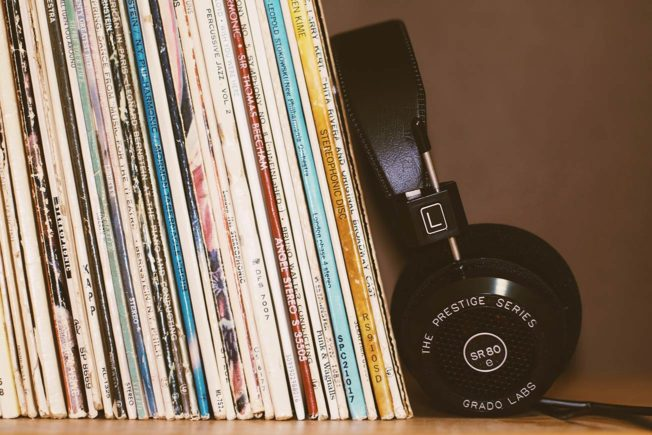 Indie vs. Major Record Labels - Vinyl Records on Shelf
