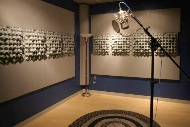 Vocal Studio Sound Treatment