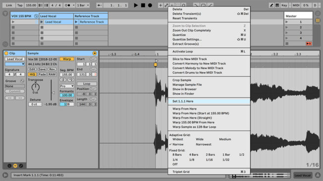 Ableton Live Set 1.1.1 Here