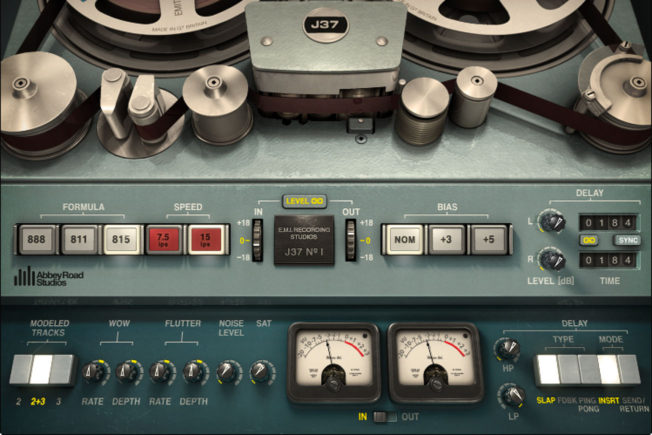 Waves J37 Tape Audio Saturation Plugin