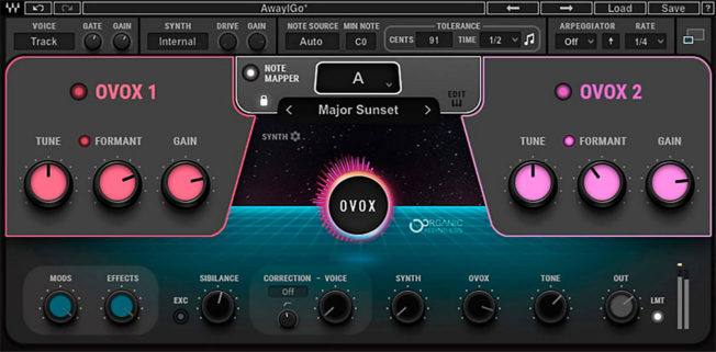 Waves OVox Vocal ReSynthesizer