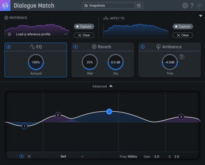 iZotope Dialogue Match