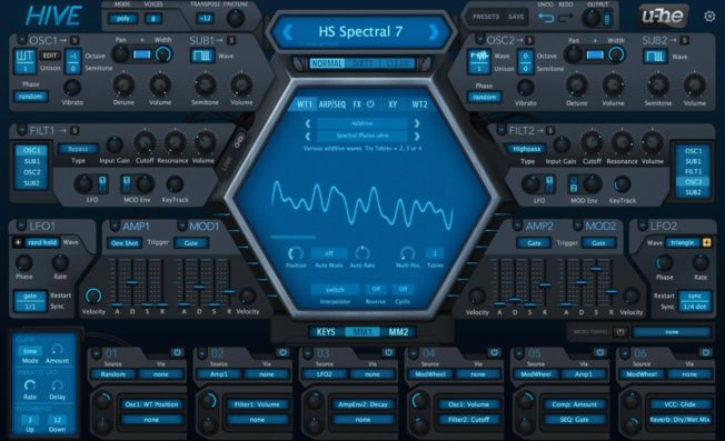u-he Hive Synth Plugin